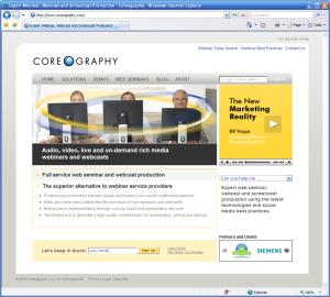 New Coreography Web Site