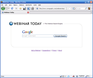 Web Seminar Search