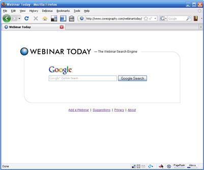 Webinar Search