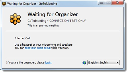 System Test for GoToWebinar